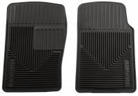 Husky Liners - Husky Liners 00-04 Nissan Frontier/XTerra/85-05 Pontiac GrandAm Heavy Duty Black Front Floor Mats - Image 1