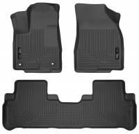 Husky Liners - Husky Liners 14 Toyota Highlander Weatherbeater Black Front & 2nd Seat Floor Liners - Image 1