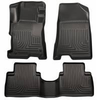 Husky Liners - Husky Liners 14 Kia Sorento Weatherbeater Black Front & 2nd Seat Floor Liners - Image 1