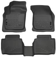 Husky Liners - Husky Liners 13 Ford Fusion WeatherBeater Combo Black Floor Liners - Image 1