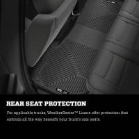 Husky Liners - Husky Liners 2019 Ram 1500 CC WeatherBeater 2nd Seat Floor Liners Black (W/O Factory Storage Box) - Image 8
