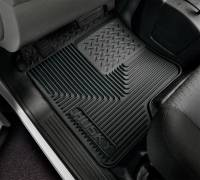 Husky Liners - Husky Liners 80-12 Ford F-150/00-05 Ford Excursion Heavy Duty Black 2nd Row Floor Mats - Image 3